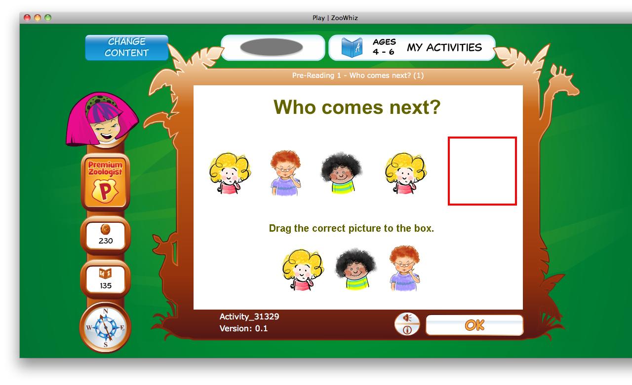 Word Activities For 6 Year Olds For 4-6 Year Olds Reading is
