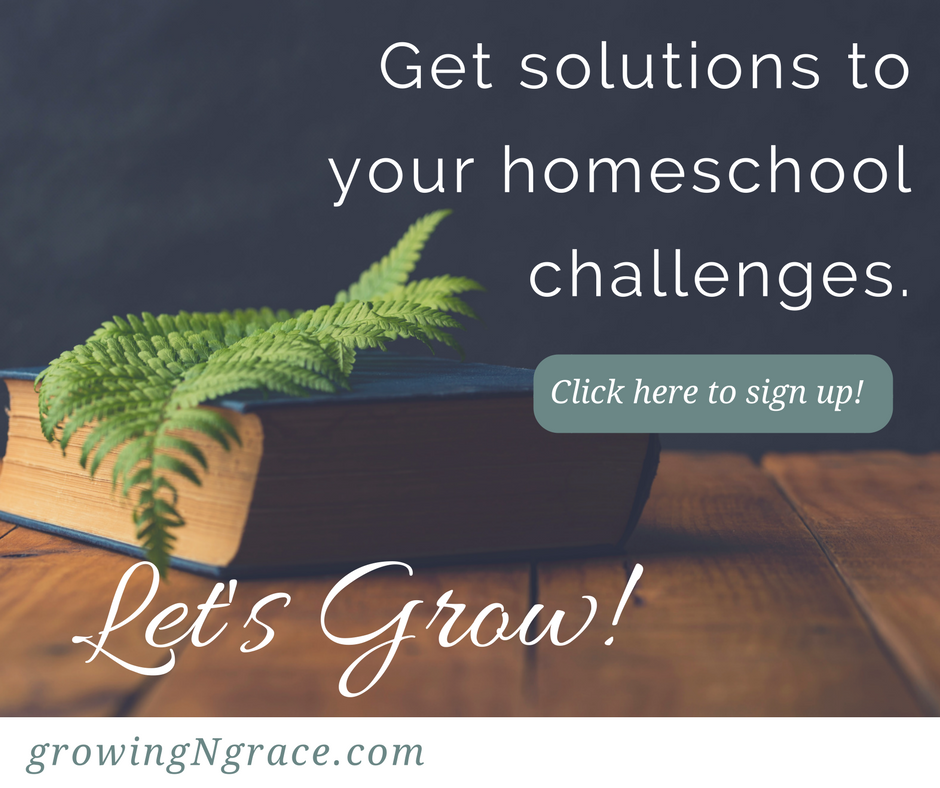 growing in grace blog sign up | homeschool solutions